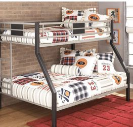 This Is A Full & Twin Bed frame The Full Mattress Is Also Include If Wanted. Only Letting Go Bc I Moved & Have No one To Put It Together. for Sale in Raleigh,  NC