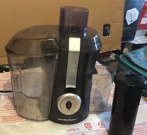 Hamilton Beach juicer like new excellent condition never been used open box for Sale in Las Vegas, NV