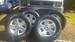 Toyota Tires/Wheels-like new for Sale in Monroe, WA
