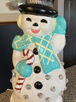 Vintage Snowman Lamp for Sale in Hammonton,  NJ