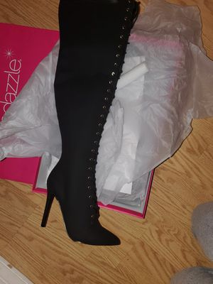Size 9 Brand new thigh high super cute boots! for Sale in Vancouver, WA