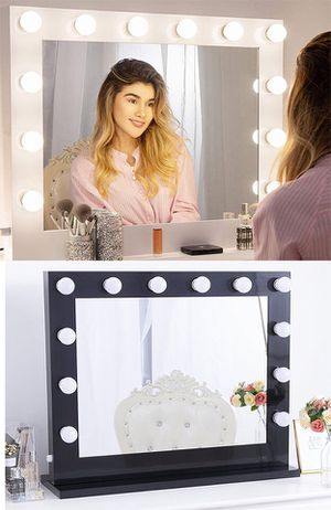 """NEW $200 Vanity Mirror LED Lights 32x26"""" for Sale in Downey, CA"""