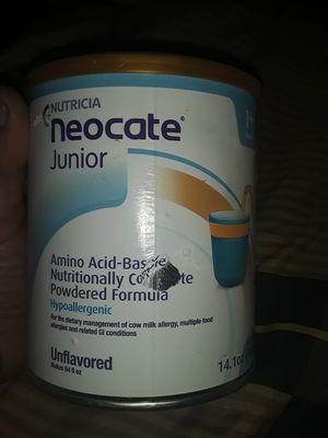Nutricia neocate junior formula for Sale in Amarillo, TX