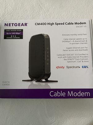 Netgear cable modem CM400 for Sale in Boca Raton, FL