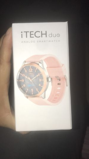 iTECH duo analog smart watch for Sale in Laurel, MD