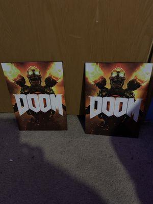 Trends International Doom 4 Wooden Art Decor for Sale in Farmington, DE