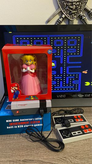 Old classic games arcade retro Anniversary Edition built in 620 games * +Princess Peach for Sale in Hallandale Beach, FL