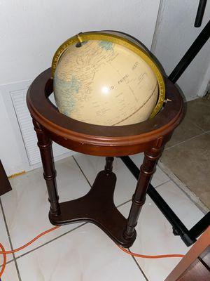 Earth Globe Table for Sale in Hollywood, FL