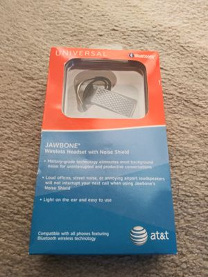 Brand-new original AT&T jawbone Bluetooth earpiece for Sale in Palmdale, CA