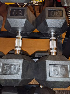 Weider 50lb Dumbbell pair for Sale in Moreno Valley, CA