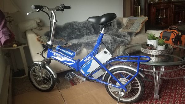 Electrical foldable bicycle