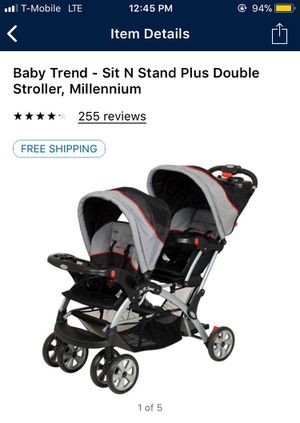 Babytrend double stroller $90 for Sale in Las Vegas, NV