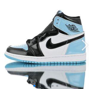 "Air Jordan 1 Retro High OG""ASG"" North Carolina Blue black white Mens Winter Sneakers size 7-12 for Sale in Grovetown, GA"