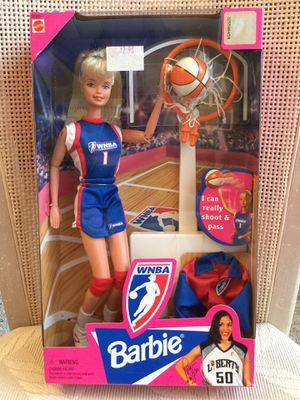 WNBA Barbie collectible 1990's — New in Box for Sale in Cape Coral, FL