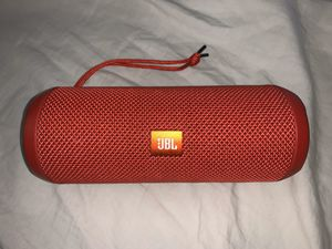 JBL Splashproof Portable Bluetooth Speaker (red) + case (black) for Sale in Santa Monica, CA