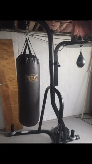 Boxing bag and speed bag for Sale in Elyria, OH