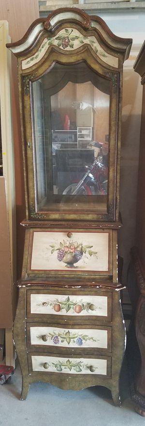 Antique cabinet /secretary desk for Sale in O'Fallon, MO