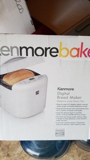 Kenmore bake digital bread maker for Sale in Modesto, CA