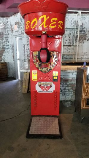 Boxing machine arcade game for Sale in Scottsdale, AZ