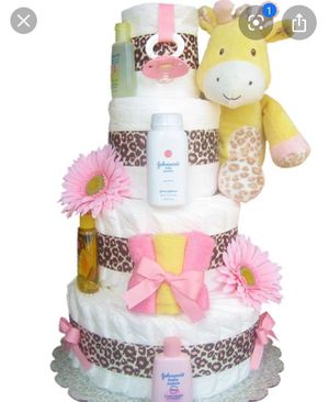 Diaper cakes pick your theme for Sale in Montebello, CA
