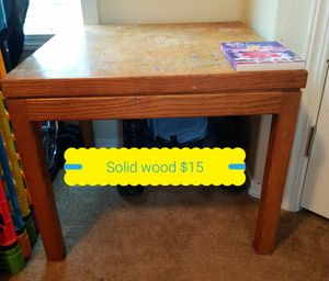 Solid wood end table for Sale in Anchorage, AK