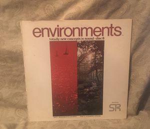 Environments Vinyl LP Album for Sale in Barrington, IL
