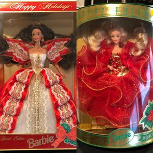 Happy Holidays Barbie Dolls NIB MIB for Sale in Lake Elsinore, CA