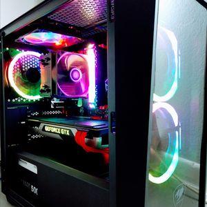 Fresh Built Gaming PC; Ryzen 5 2600, GTX 980, 16GB RGB DDR4, Tempered Glass Case for Sale in Gilbert, AZ
