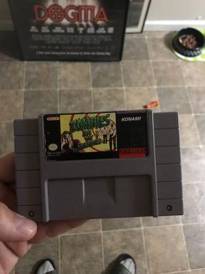 Zombies ate my neighbors super Nintendo for Sale in Modesto, CA