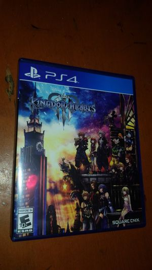PS4 Kingdom Hearts 3 for Sale in Long Beach, CA