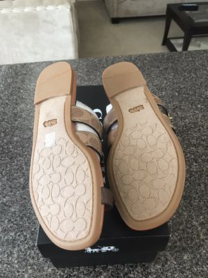 Coach Julianna sandals various sizes Coach flats for Sale in Houston, TX