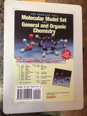 Chemistry model study kit for Sale in Berkeley, CA