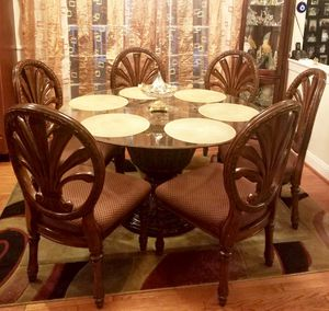 Round Table with Chairs for Sale in Boyds, MD