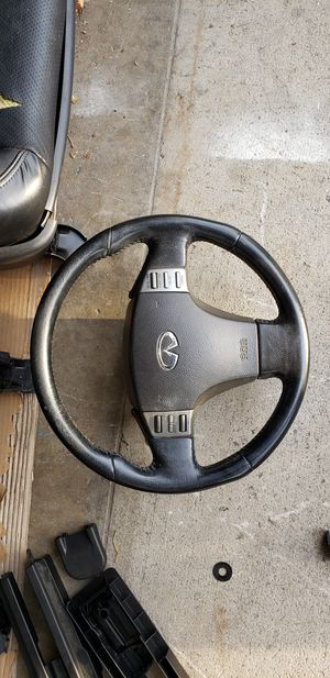 2004 g35 steering wheel for Sale in Anaheim, CA
