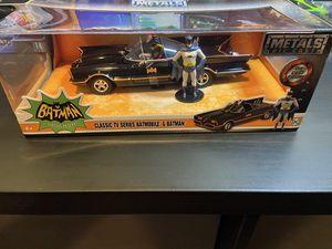 Batmobile Die- Cast 1:24 Scale primer black for Sale in Eagan, MN