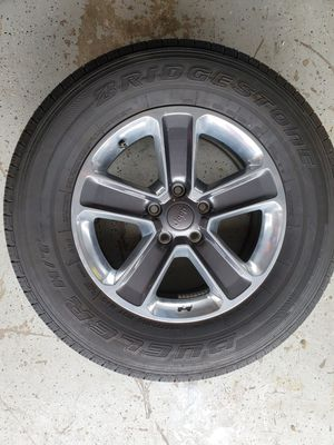 Jeep Wheels and tires I have 5 in good condition. for Sale in Bradenton, FL
