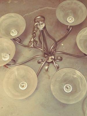 Silver chandelier for Sale in Powder Springs, GA