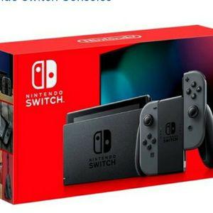 Nintendo Switch Grey for Sale in New Brunswick, NJ