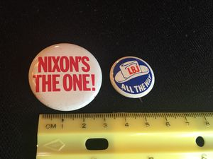 Political pins. Vintage. Authentic. for Sale in Poway, CA