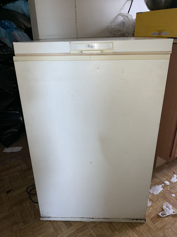 Rargaire small box freezer & Kenmore 9