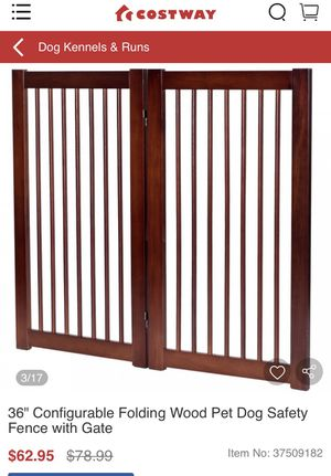 Pet safety fence for Sale in Garden Grove, CA