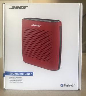 BOSE SoundLink Color Bluetooth speaker for Sale in Norfolk, VA