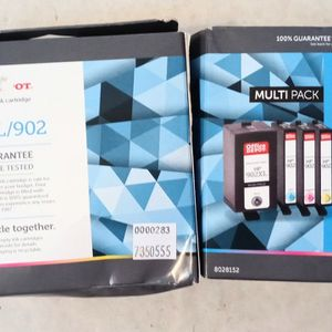 hp 902xl ink cartridges 4 pack for Sale in Pompano Beach, FL