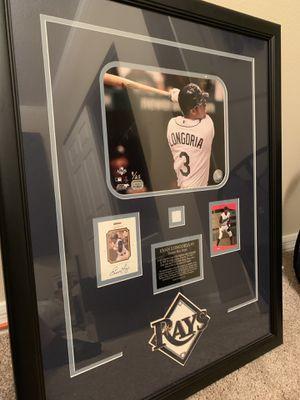 Tampa Bay Rays memorabilia Evan Longoria for Sale in Alafaya, FL