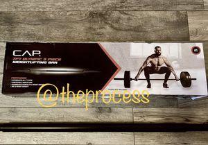 🏋🏽♂️Brand CAP Barbell 7 ft Olympic weight lifting bar for Sale in San Bernardino, CA