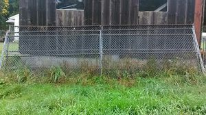 3 Chain-link panels 20 feet long 1) 5 foot tall and 2) 6 foot tall for Sale in La Center, WA