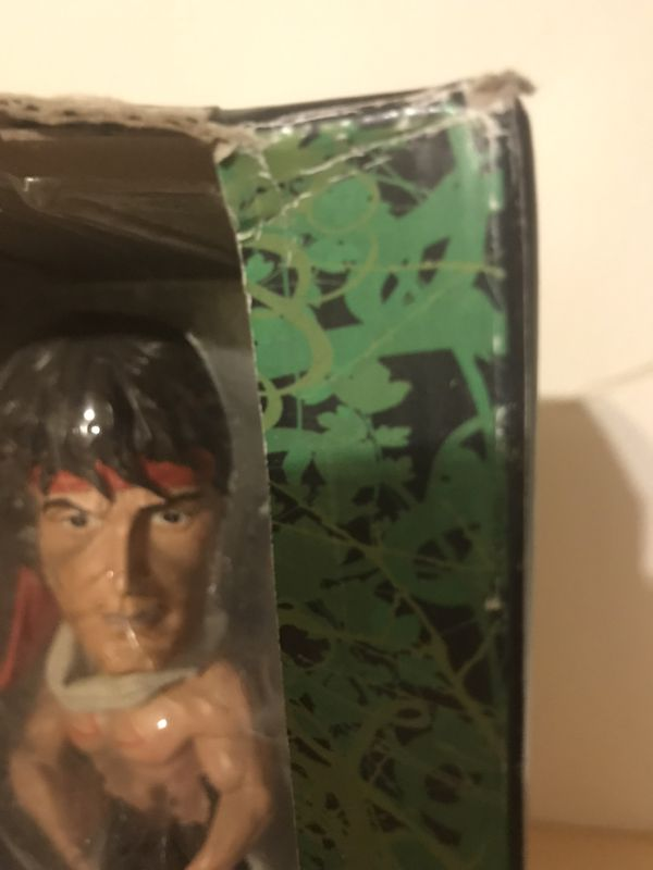Rambo bobble head