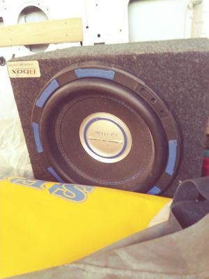 "12"" Gothic subwoofer & Infinity amp for Sale in Mill Valley, CA"
