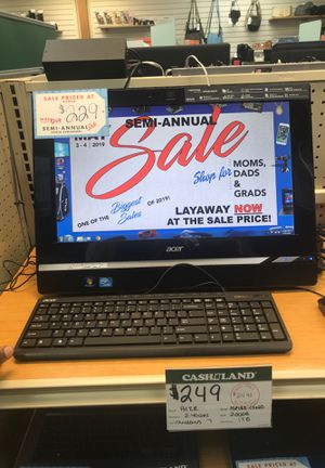 Acer Computer / I ASPIRE for Sale in Garfield Heights, OH