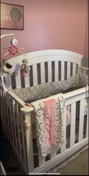 Crib, accessories, and changing table for Sale in South Salt Lake, UT
